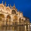 Venice Italy St Marks Basilica Blue Hour
