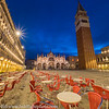 Venice Italy Piazzo San Marco Blue Hour