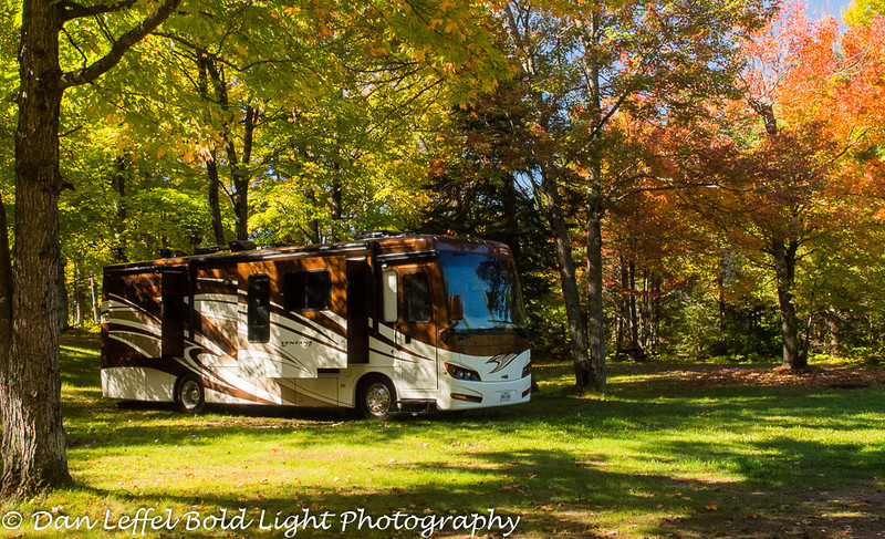 Our RV in Campground