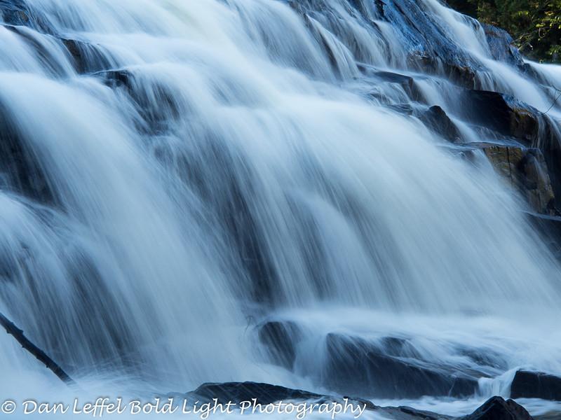 Agate Falls - Porcupine Mountains Area
