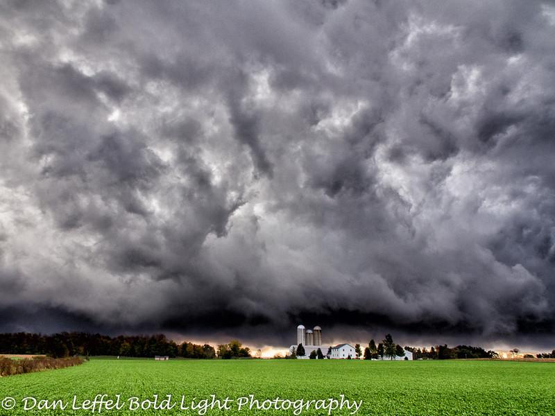 Ohio Farmland Storm