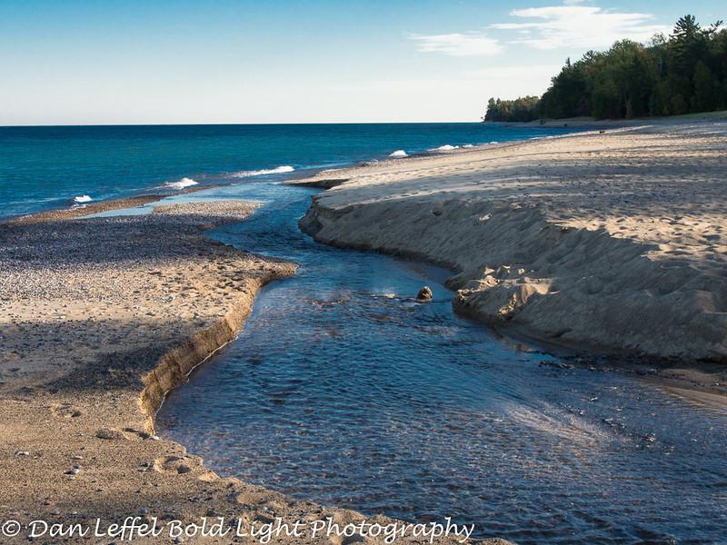 Lake Superior near Munising, MI