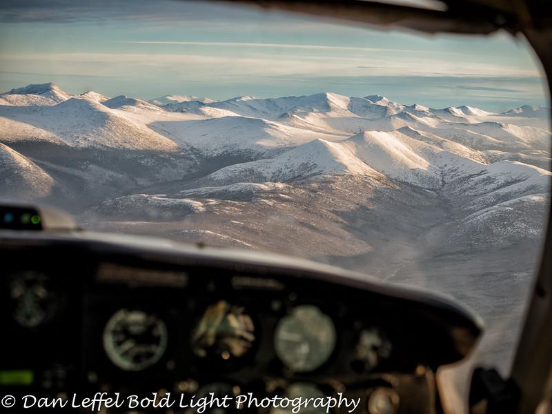 Alaska Flight White Mountain Range