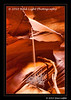 Sandfall; Upper Antelope Slot Canyon on Navajo Land, outside of Page, AZ