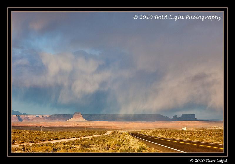 Storm light over Lake Powell, outside Page, AZ
