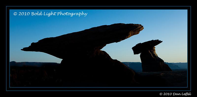 Stud Horse Point Sunrise, north of Page, AZ.