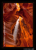 Upper Antelope Slot Canyon on Navajo Land, outside of Page, AZ