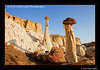 Towers of Silence, Wahweap Wash, north of Page, AZ