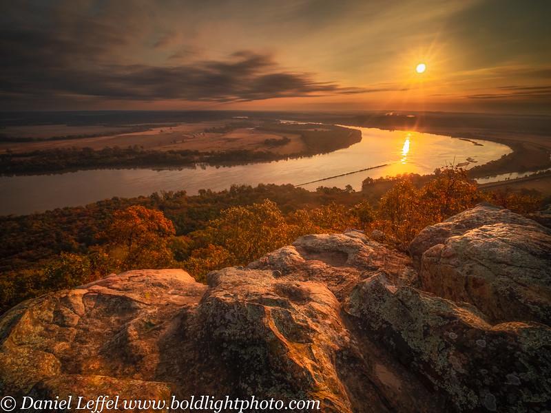 Petit Jean State Park Arkansas Fall Color