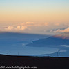 Maui Mt Haleakala Huge Shadow at Dawn