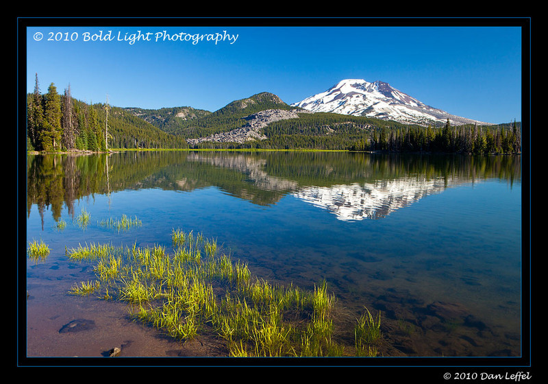 Oregon Central Cascades area near Bend, OR - July 2010; Sparks Lake