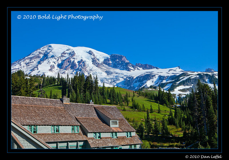 Washington Mt Rainier National Park - July 2010; Paradise Inn
