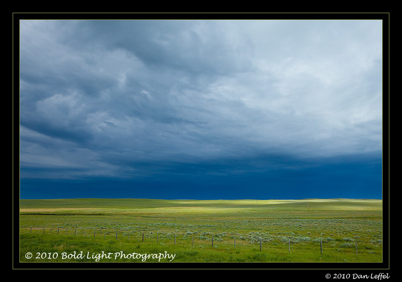 Wyoming prairie storm - July 2010