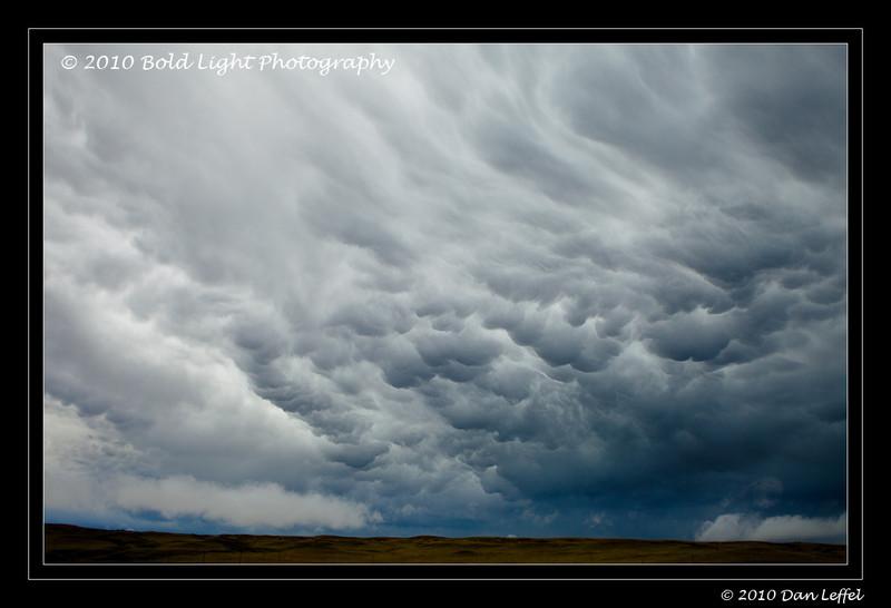 Wyoming prairie storm - July 2010
