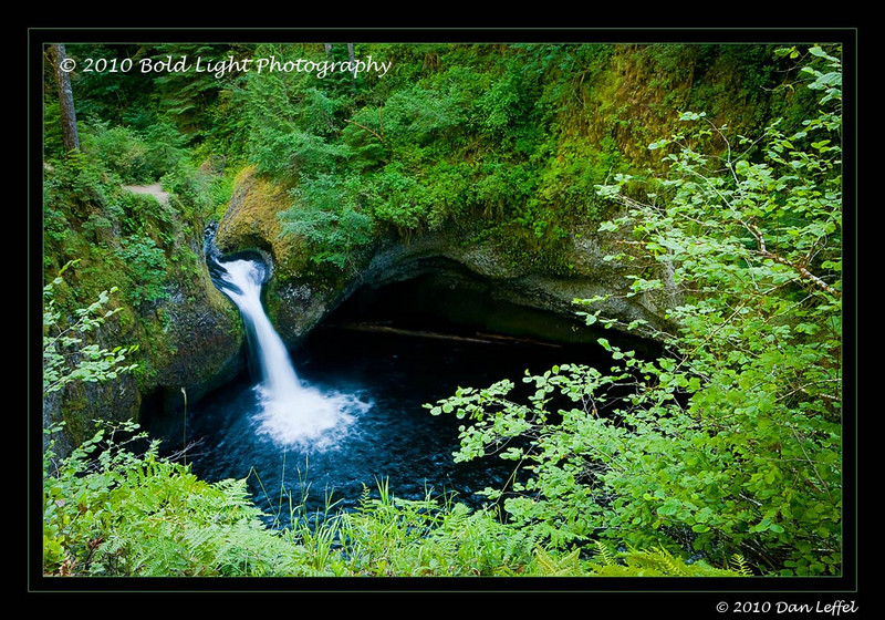 Oregon Punchbowl Falls, Columbia River Gorge - July 2010