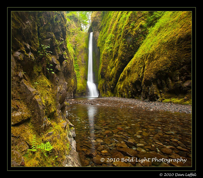 Oregon Oneonta Gorge, Columbia River Gorge - July 2010