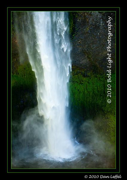 Oregon Central Cascades area near Bend, OR - July 2010; Salt Creek Falls