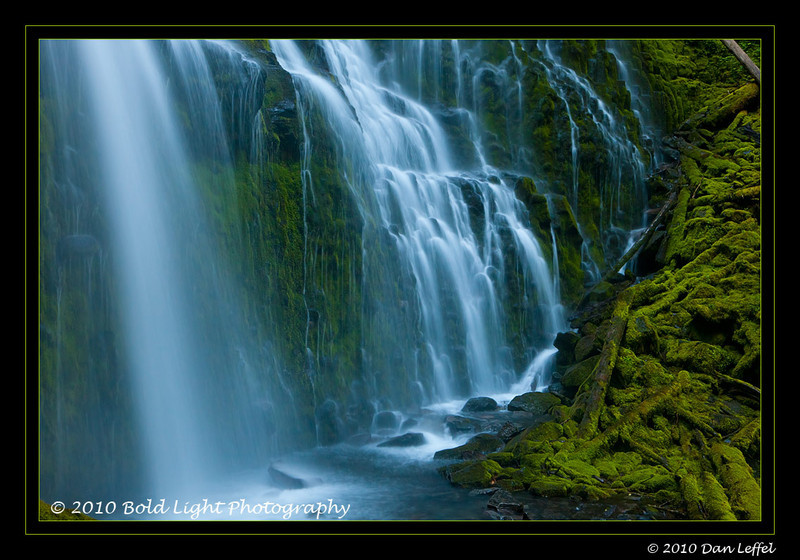 Oregon Central Cascades area near Bend, OR - July 2010; Proxy Falls