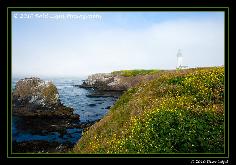 Oregon coast - July 2010, Yaquina Head lighthouse