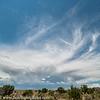 Gathering Storm in the Desert