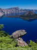Crater Lake National Park - and yes it really is this blue!