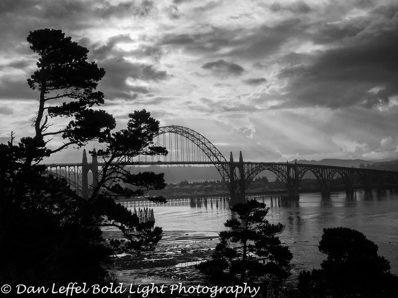 Newport Oregon Coast Bridge