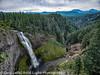 Oregon Cascades Salt Creek Falls Scenic Overview