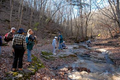 November 19, 2005 hike at Floracliff Nature Sanctuary in Lexington, Kentucky