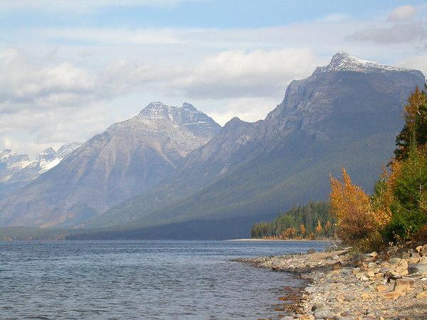 Lake McDonald in Glacier National Park in Montana