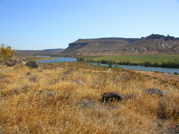Snake River and Plateaus south of Boise, Idaho