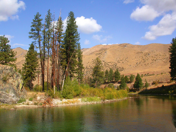 Middle fork of the Boise River in Idaho