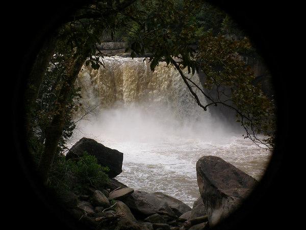 Cumberland Falls in Kentucky