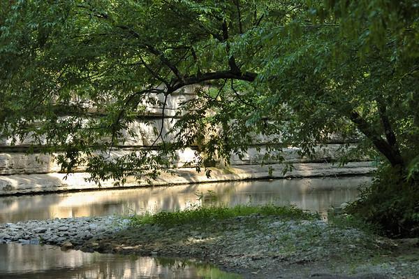 Summer scenes on Lower Howards Creek