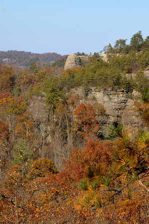 Red River Gorge Geological Area in the Daniel Boone National Forest of Kentucky
