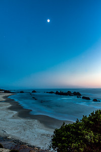 Seal Rock Beach at Twilight
