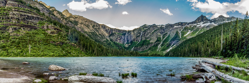 Avalanche Lake Glacier National Park