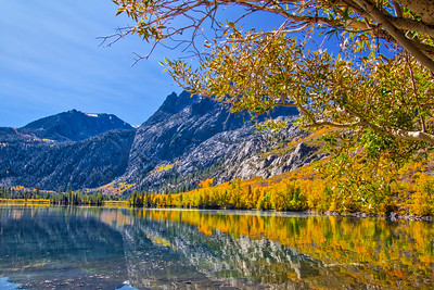 Fall Colors Along Silver Lake
