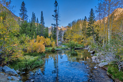 Bishop Creek at Sunrise