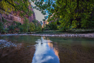 Reflections in the Virgin River