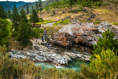 Kirkham hot springs Idaho