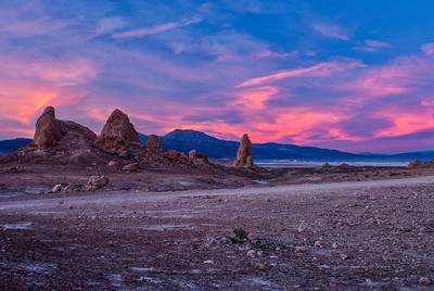 Trona Tufa Pinnacles