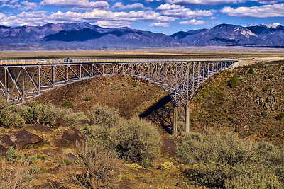 Bridge Over the Rio Grand Gorge