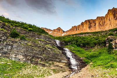 Glacier National Park Waterfall