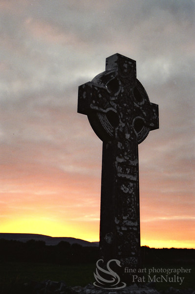 Landscape Celtic Cross Picture