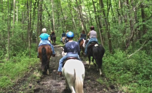 Elm Creek Trail Ride 6-5-15