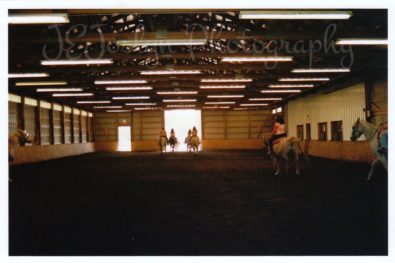 Bunker Park Stables Arena, Drill Team performance in Spring of 2008.