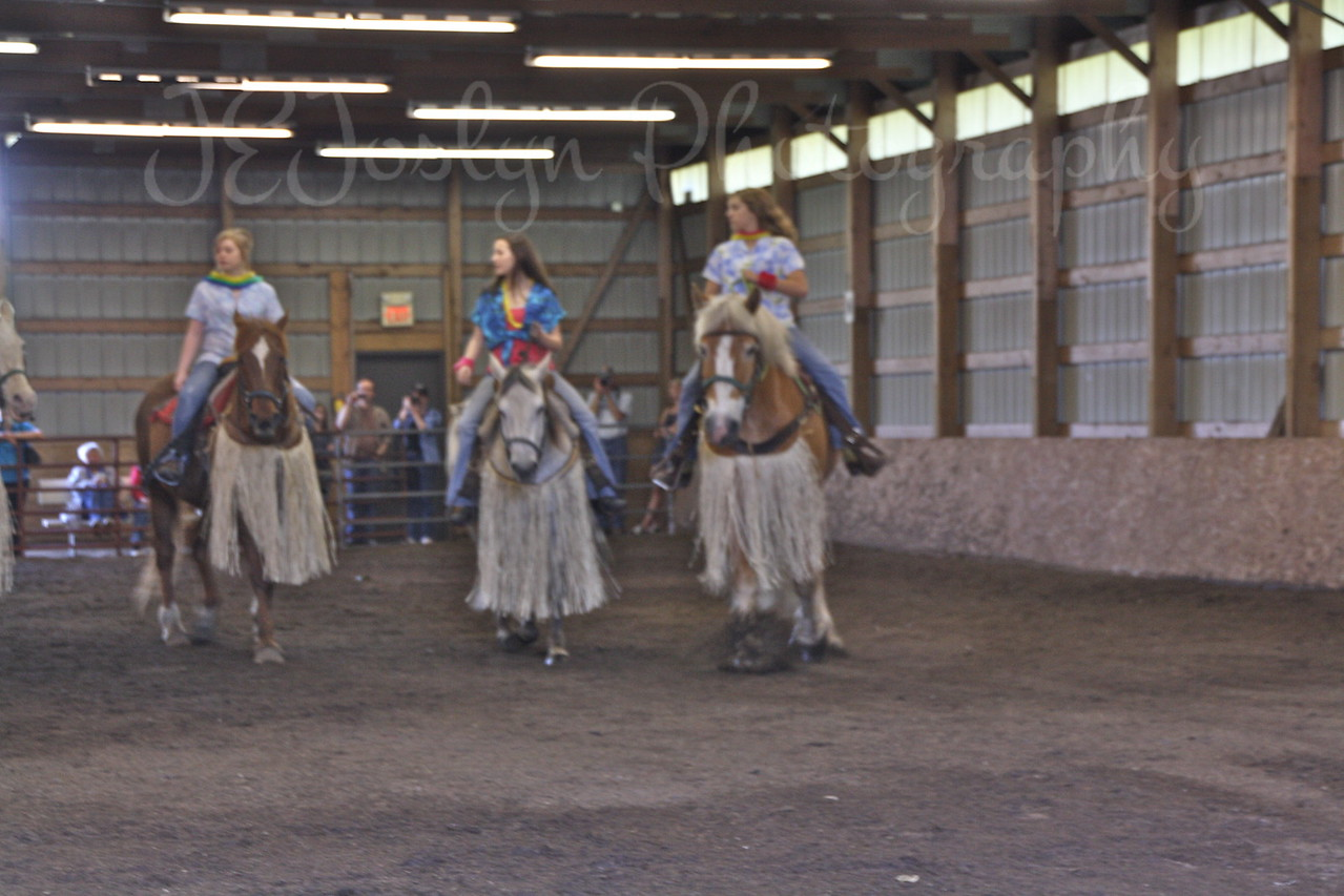 Bunker Stables-Drill Team fun May 16, 2010.