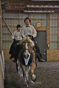Bunker Stables-Drill Team fun May 16, 2010.  Cindra with Eli
