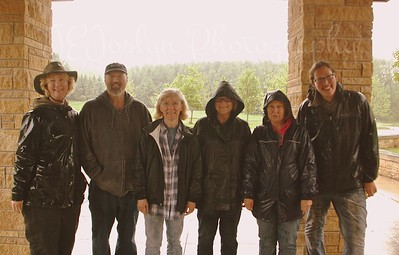 Forestville Horse Camp - May 2015 - those that DID go into the Mystery Cave.