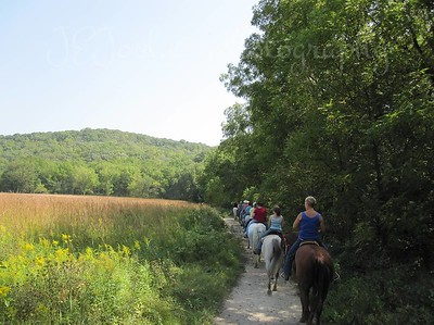 Forestville State Park - trip with Bunker Staff and Horses, photo by Amber Peterson